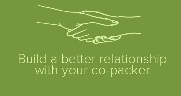 Relationship with co-packer