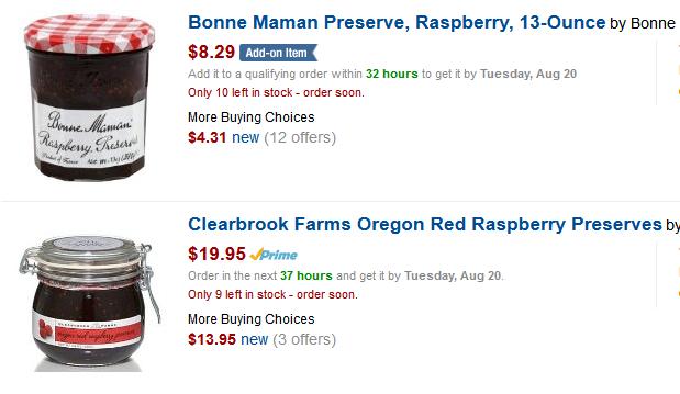 Amazon Raspberry Jam search