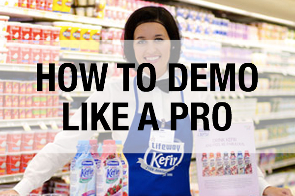 How to demo like a pro with your food product