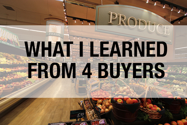 how to navigate grocery store buyers