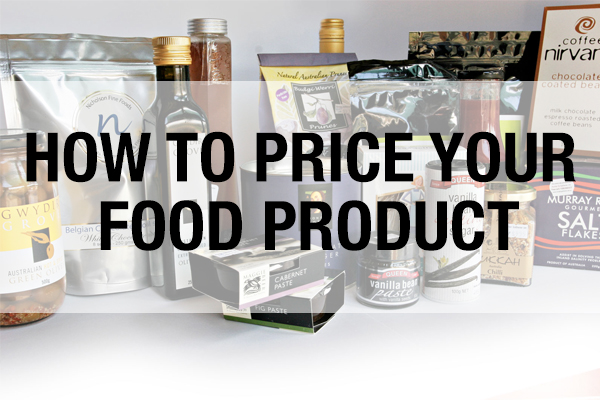 How to price your food product
