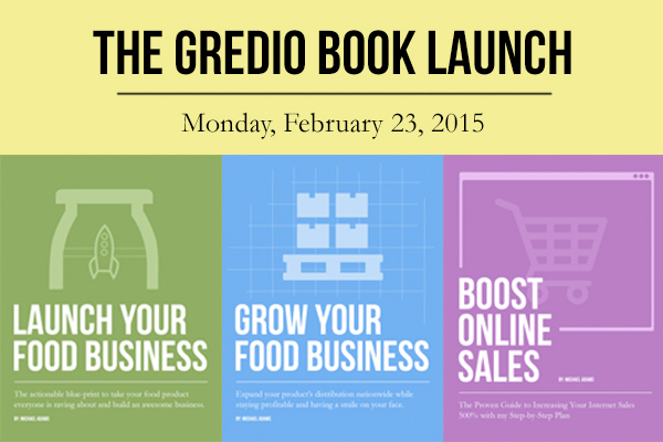Gredio Book Launch on February 23, 2015