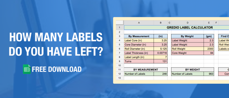 How to determine how many labels you have left free calculator spreadsheet label calculator sciox Image collections