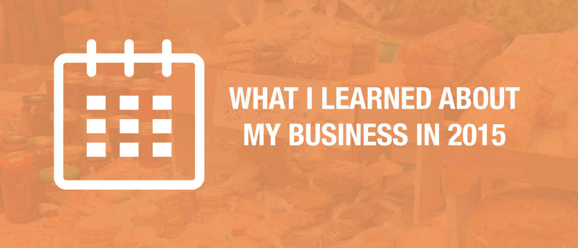 What I Learned About My Business in 2015