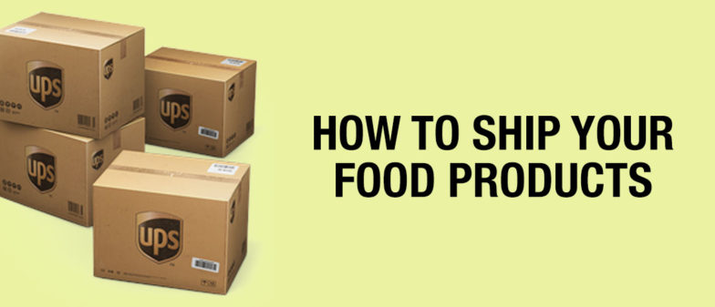 how to ship food products