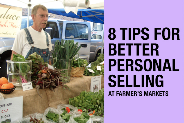sell more at farmer's markets